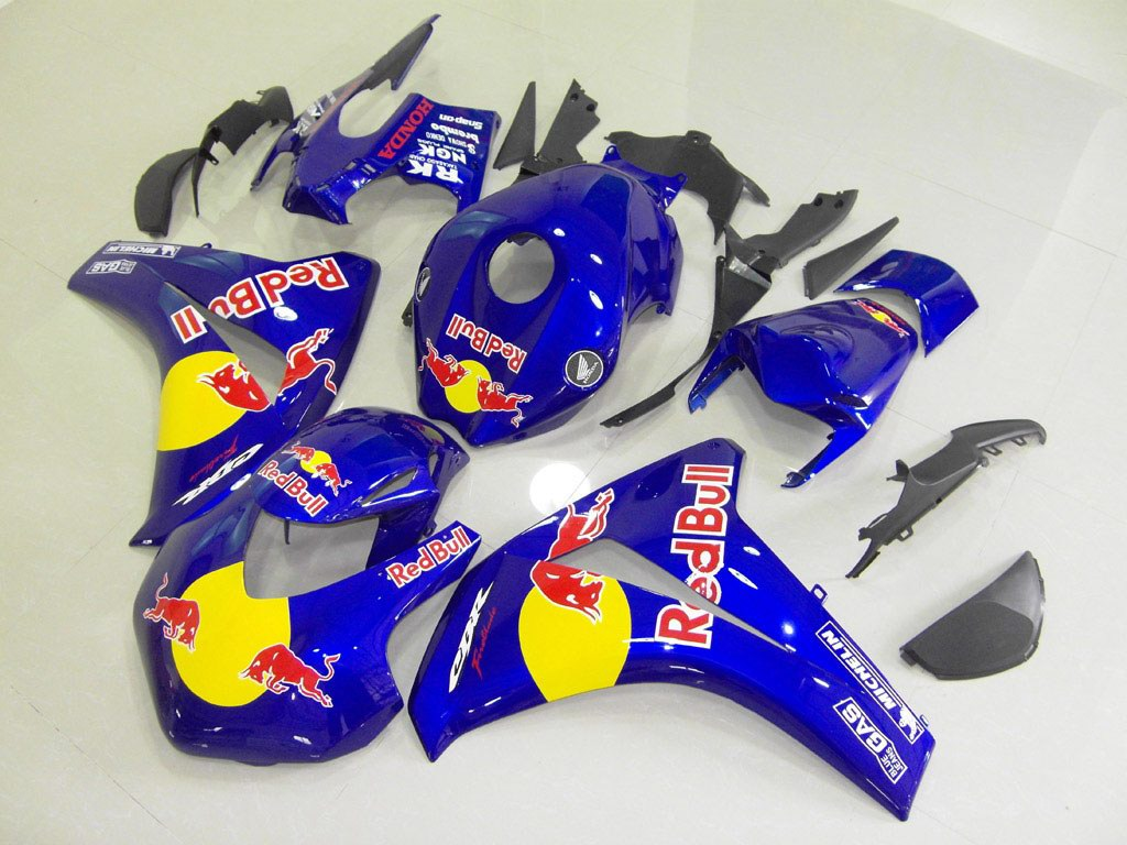 UK Honda fairings FOR CBR1000RR Redbull - 08-11 CBR 1000RR