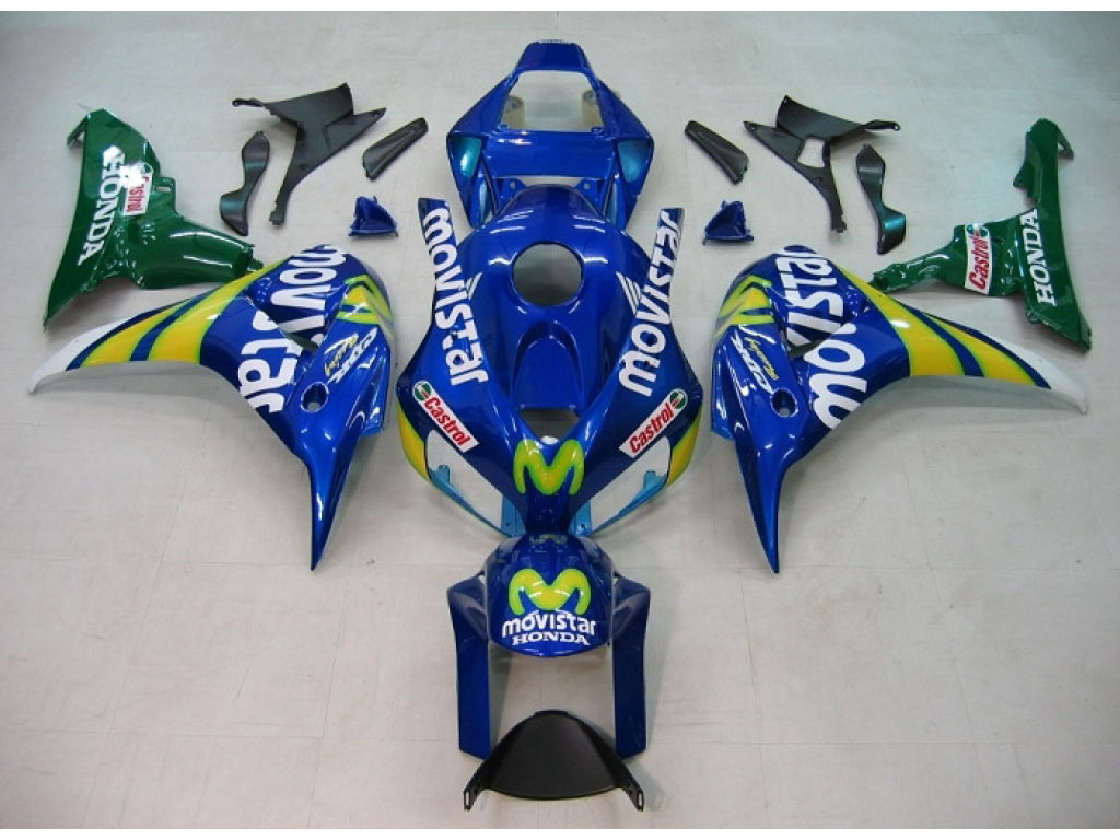 Newzealand top-rate Honda ABS motorcycle fairing Movistar - 06-0