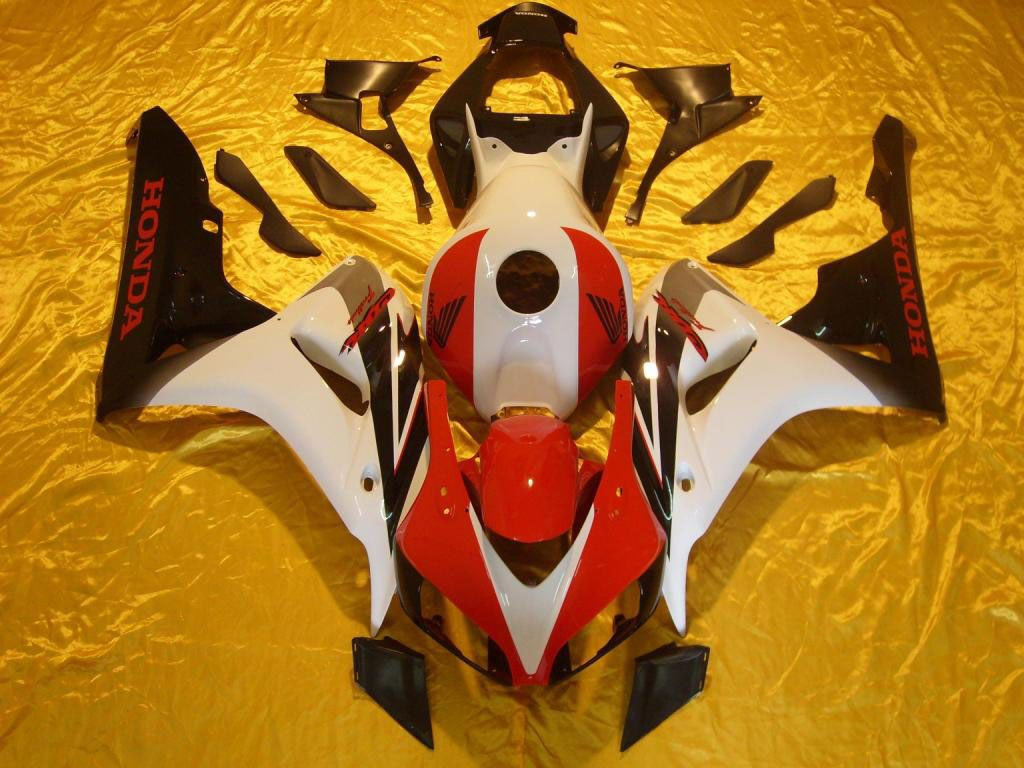 Honda aftermarket fairings Red White - 06-07 CBR 1000RR