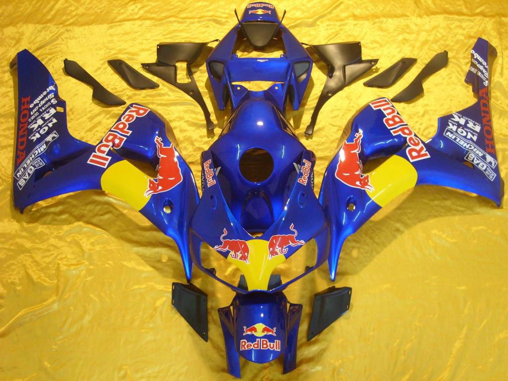 Top quality aftermarket abs fairing for Honda Redbull - 06-07 CB
