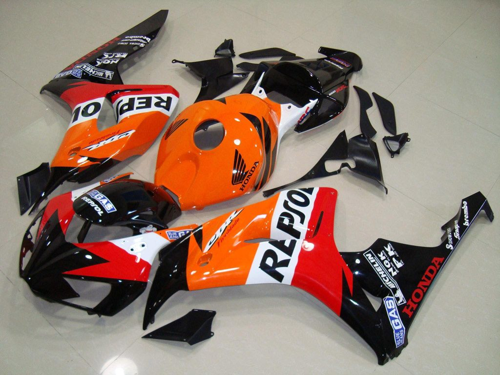 UK Honda motorcycle fairings kit Repsol - 06-07 CBR 1000RR