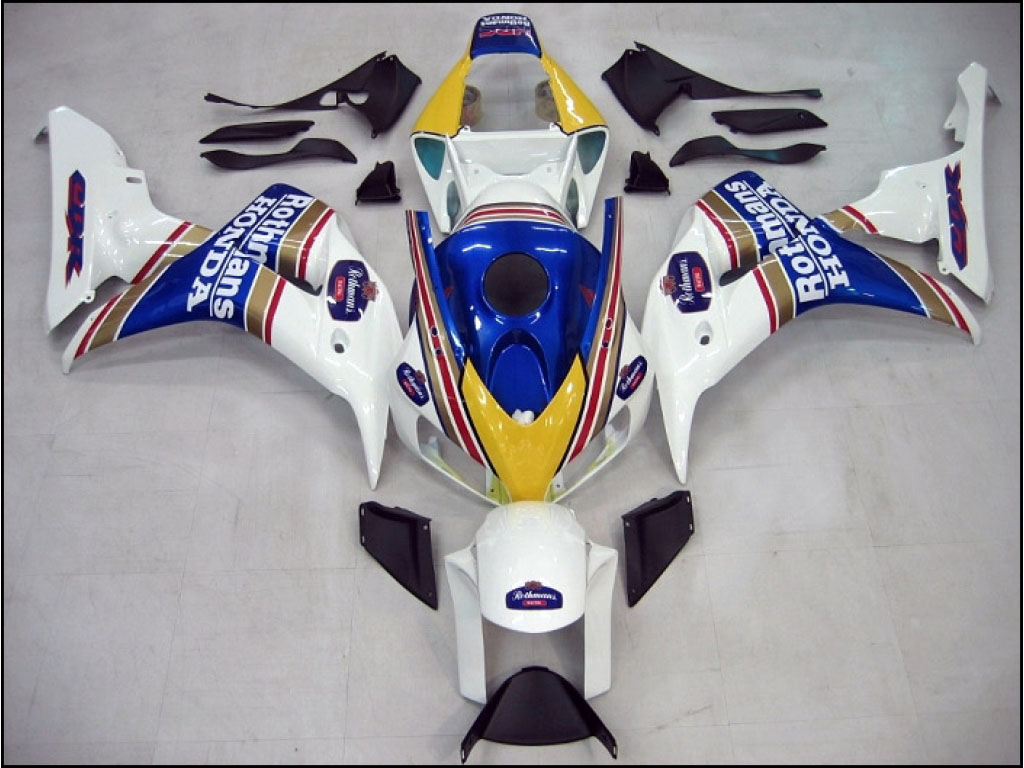Discount Honda CBR1000RR fairings with 3 Layer Paint Rothmans -