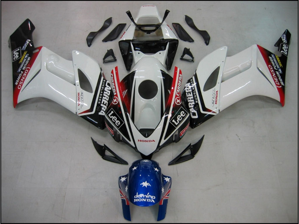Personalized Honda ABS motorcycle fairing kits 04-05Carerra - 04