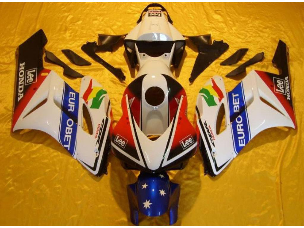USA disount Honda motocycle fairings kits ABS Eurobet - 04-05 CB