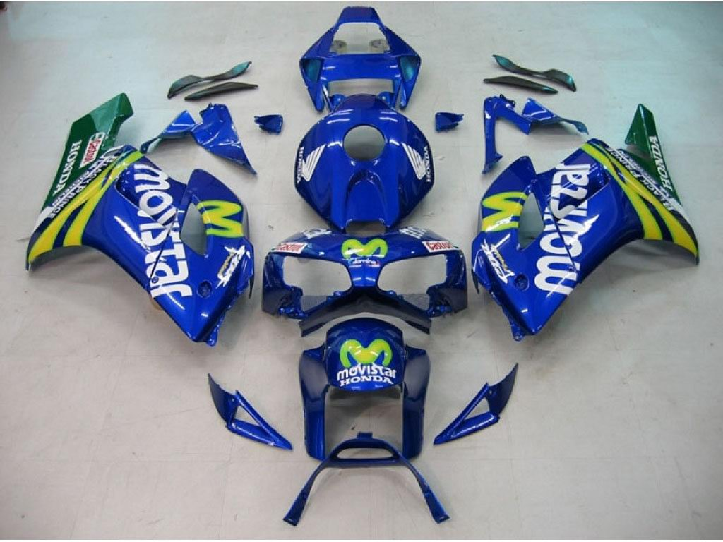 Buy Honda CBR1000RR fairings kits online store Movistar - 04-05