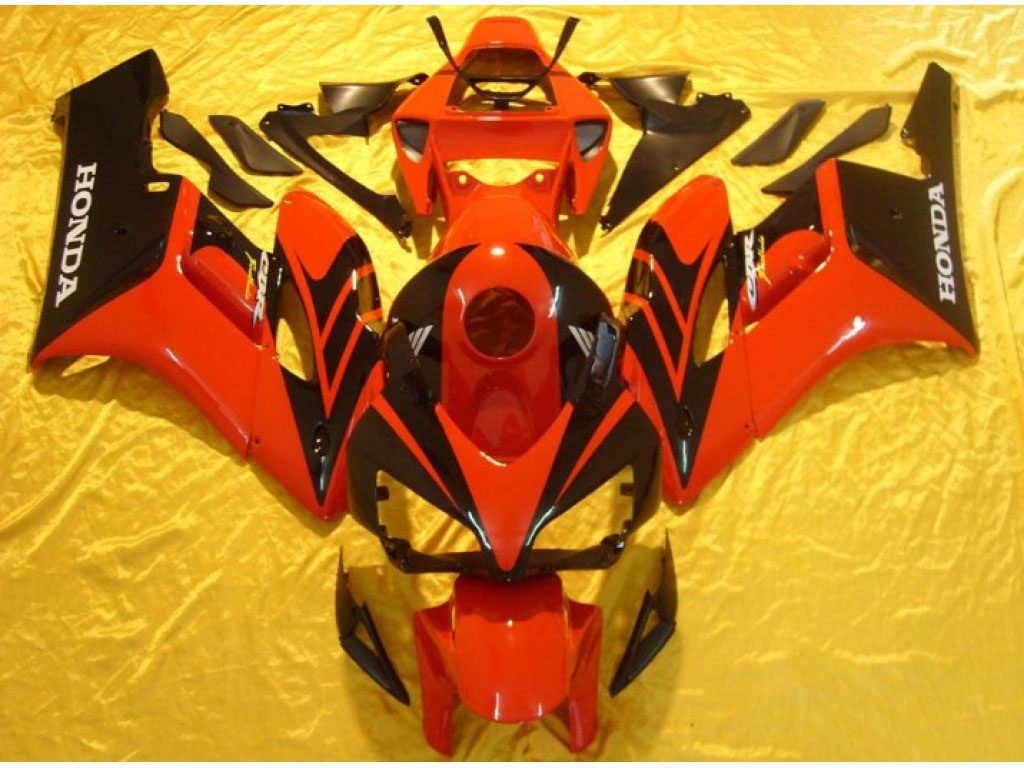 South Africa Honda motorcycle fairings Orange Black - 04-05 CBR