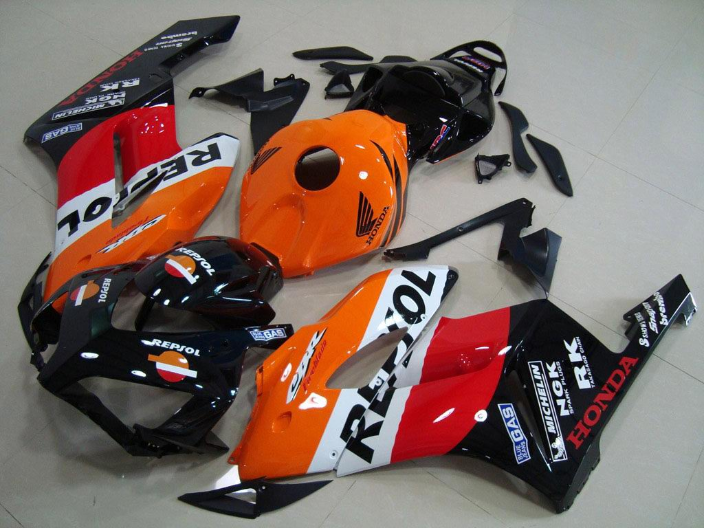 UK custom Honda motorcycle fairings Repsol - 04-05 CBR 1000RR