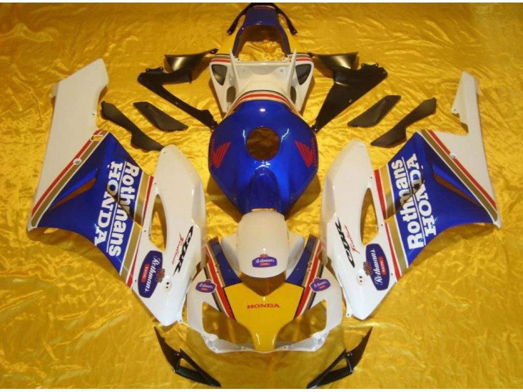 Best Replacement honda motorcycle fairings Rothmans - 04-05 CBR