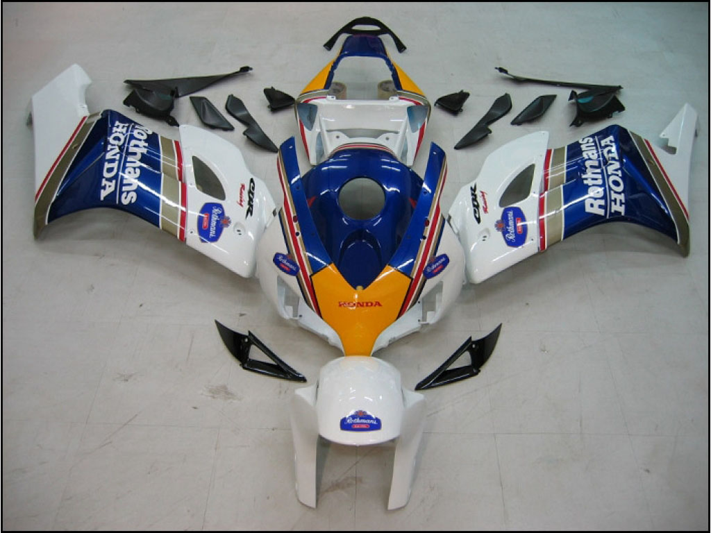 Best aftermarket Honda ABS motor fairing kits Rothmans - 04-05 C