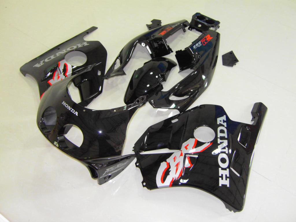 USA OEM ABS FAIRINGS KIT Black 2 - 90-99 CBR250RR MC22
