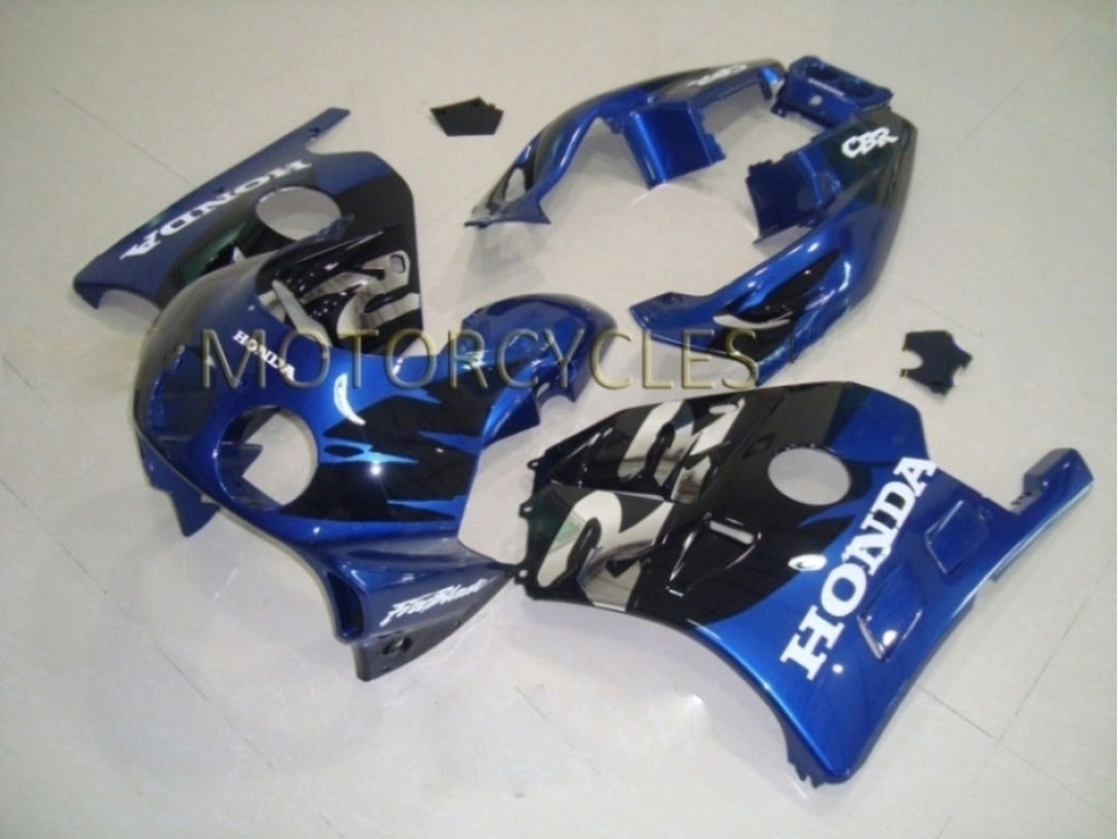 1994 honda cbr250r aftermarket fairings Blue Black - 90-99 CBR25