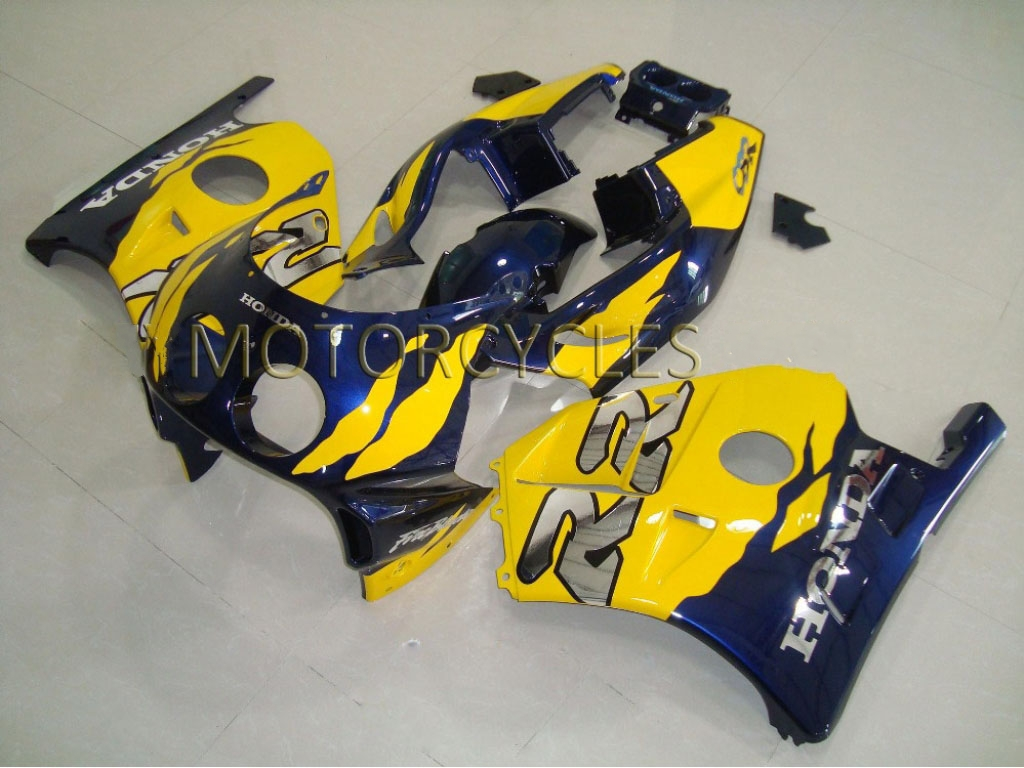 1995 honda cbr250r fairings Dark Blue Yellow - 90-99 CBR250RR MC