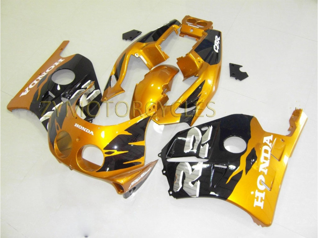 1996 honda cbr250r fairngs kit on sale Gold Black - 90-99 CBR250