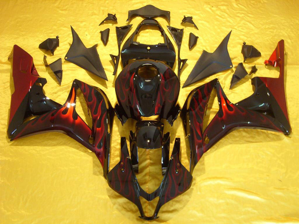 Red Flame CBR 600RR fairings USA