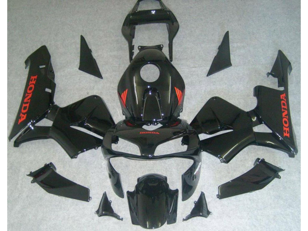 LA Black 2004 CBR 600RR motorcycle bodywork