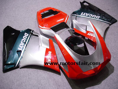 USA Discount Ducati 748/996/998 ABS Fairings Kit 1993-2005 - Bla