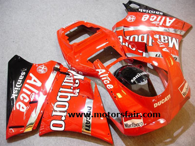 Cool Ducati 748/996/998 1993-2005 ABS Fairing - Marlboro