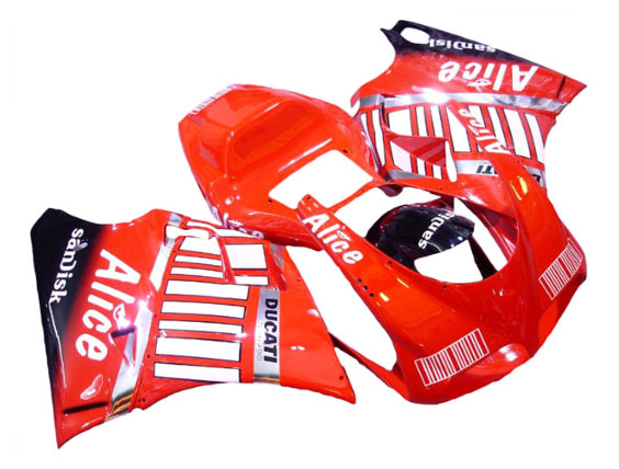 Alice Barcode ABS Fairing Set 7pc - Ducati 748/916/996/998 1998-