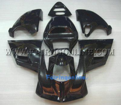 ALL BLACK ABS Ducati 748 / 996 / 998 ABS Fairings + Windscreen