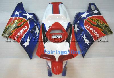 Super cool Sportbike Ducati 748 / 996 / 998 Fairings + Windscree