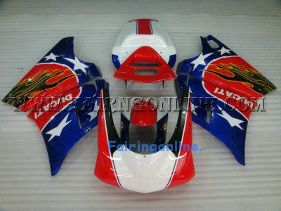 Canada Aftermarket Ducati 748 / 996 / 998 Fairings Star + Windsc