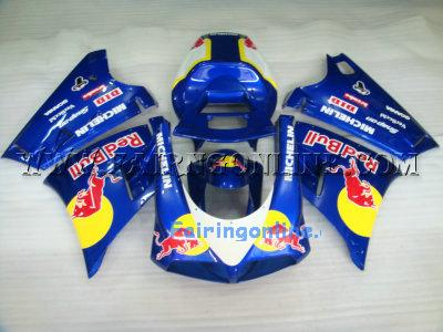 Redbull ABS Sportbike Ducati 748 / 996 / 998 Fairings + Windscre