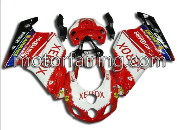 OEM Ducati 749/999 2005-2006 ABS Fairings - Xerox
