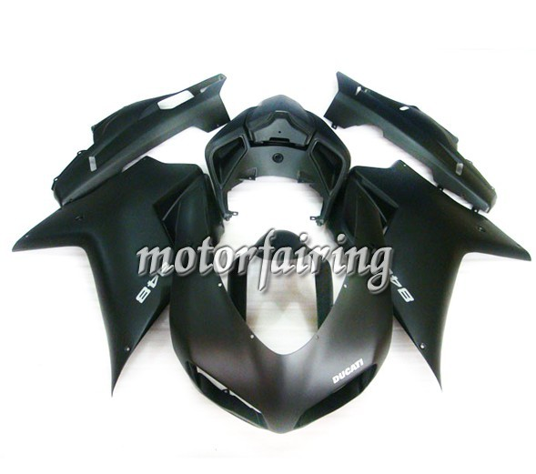 Italy Ducati 1098/848/1198 2007-2009 ABS Fairing - Matt Black
