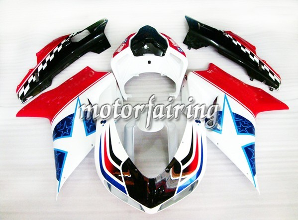 Cheap Ducati 1098/848/1198 2007-2009 ABS Fairings Kit - Star