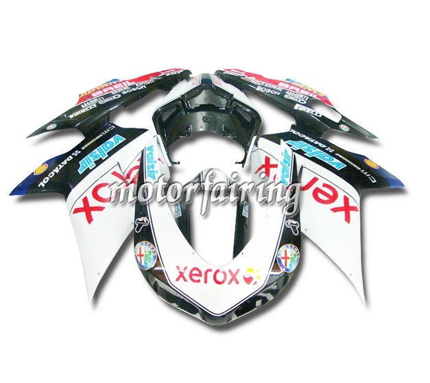USA Discount Ducati 1098/848/1198 2007-2009 ABS Fairings - Xerox