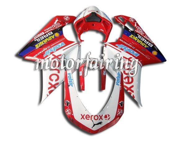 Lower Ducati 1098/848/1198 2007-2009 ABS Fairing - Xerox