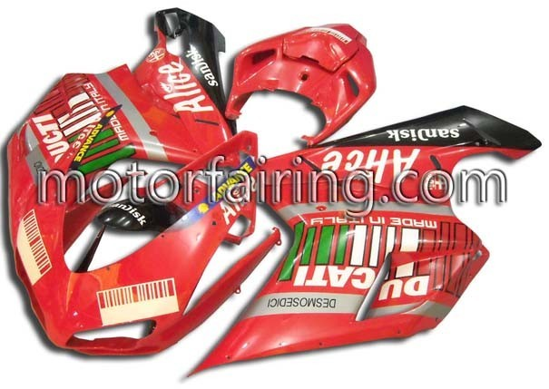 Alice ABS Fairing Set Ducati 1098/848/1198 2007-2009