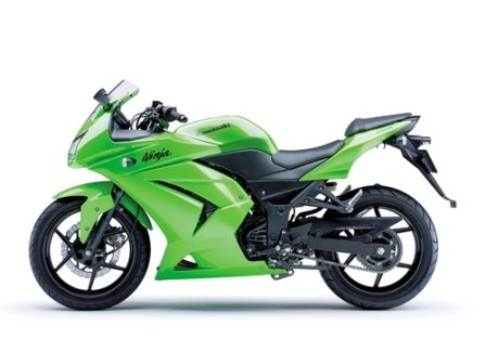 OEM NINJA 250R Fairings --- GREEN