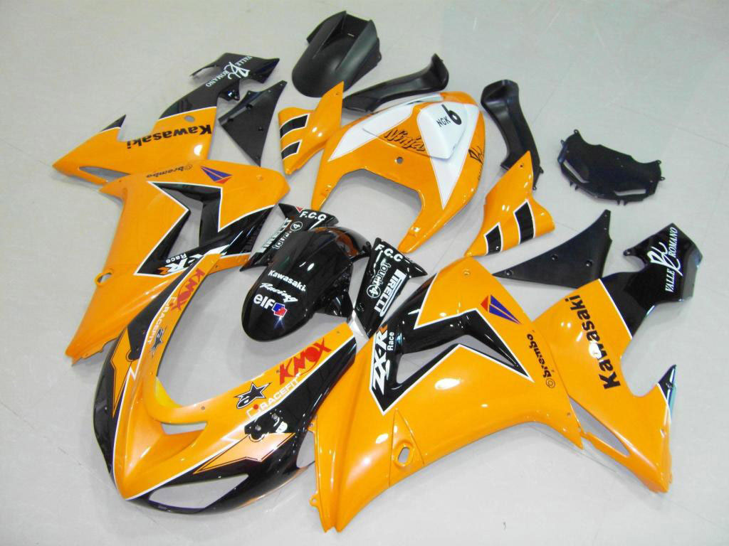 Orange Black - United Kingdom zx10r fairing