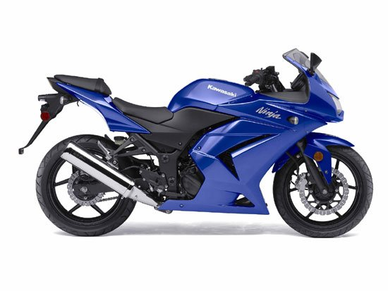 Custom Ninja 250 fairing 2008-2010 ---Blue scheme