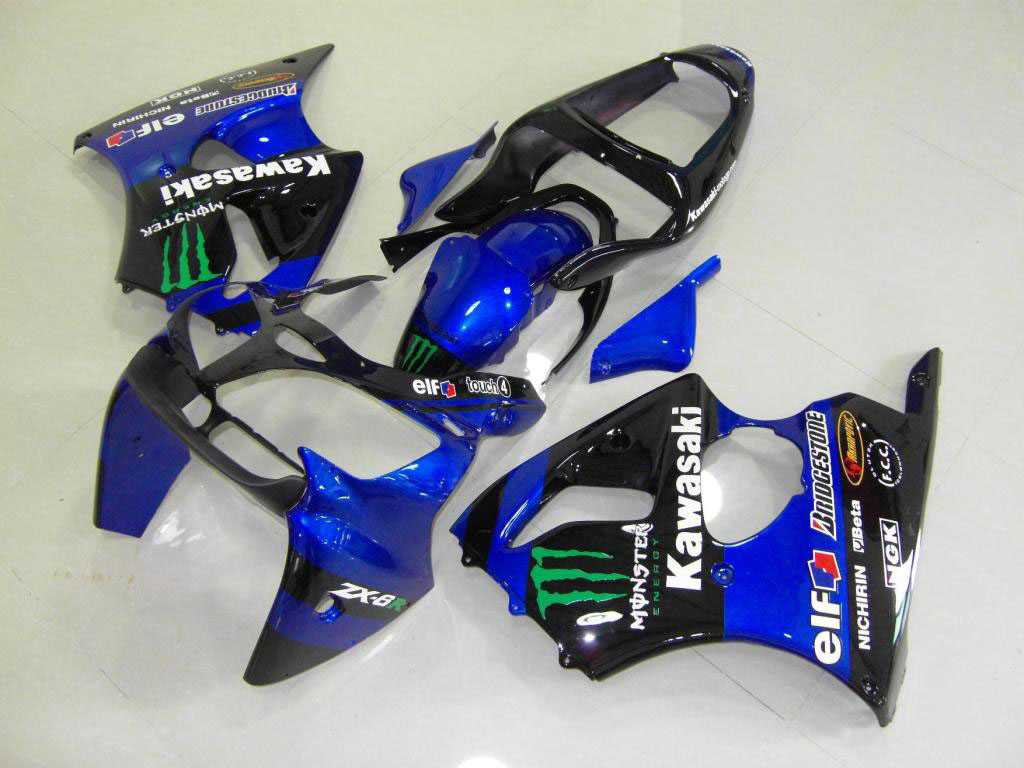 2000 zx6r fairings ---Blue Monster