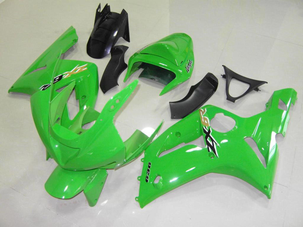 2003 zx6r fairings ---Green Scheme