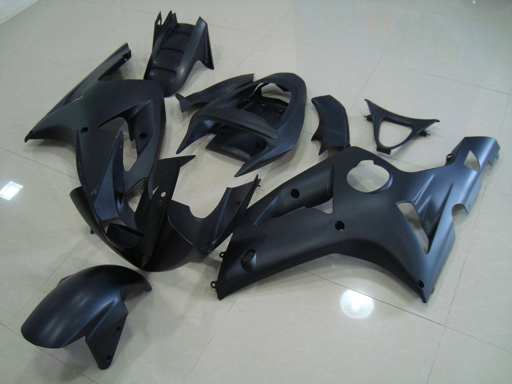 2004 zx6r fairings ---Matt Black