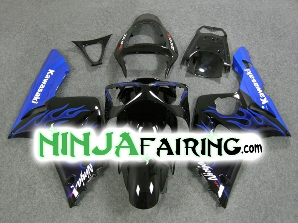 BLUE FLAME - 03-04 Ninja ZX6R FAIRING USA