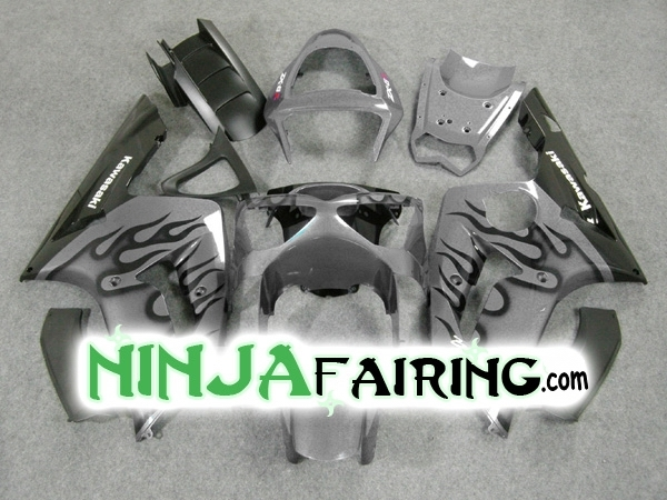 GUNMETAL FLAME - Best aftermarket Ninja ZX6R fairing