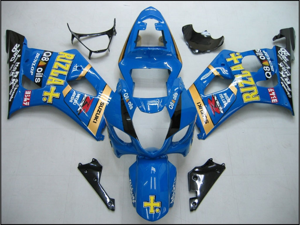 Australia Custom aftermarket GSXR fairings