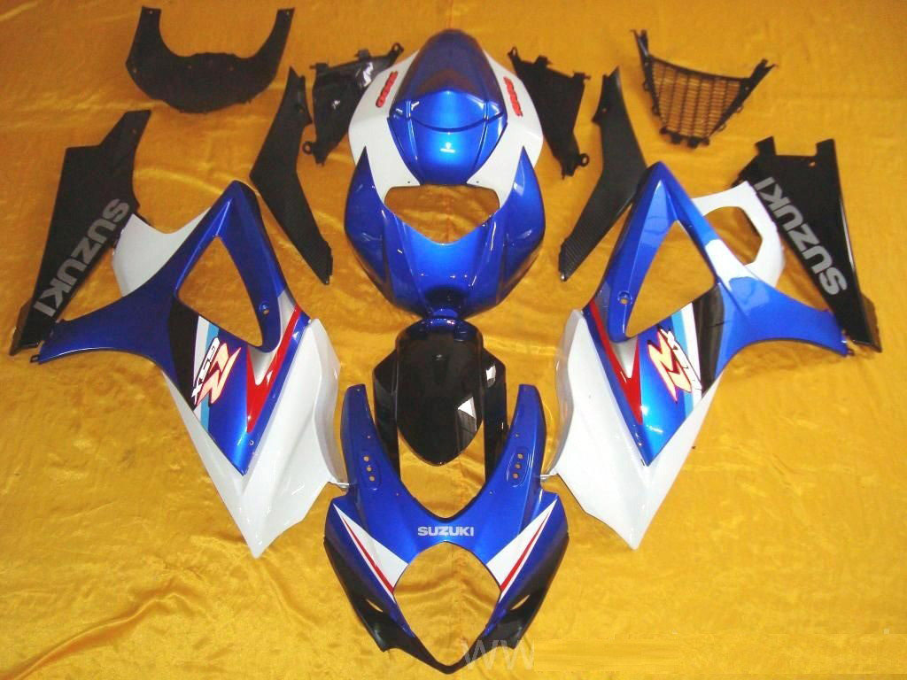 South Africa ABS motorcycles GSXR600 fairings on sale (BLUE AND
