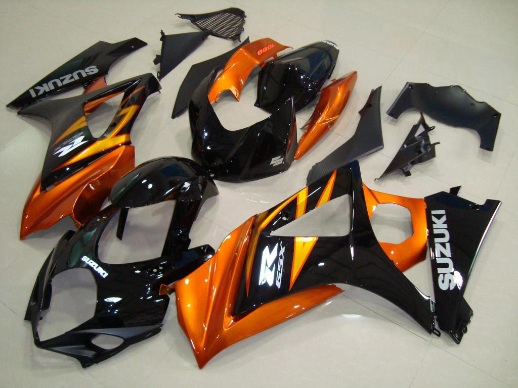 Buy Cheap aftermarket GSXR1000 fairings (ORANGE AND BLACK)