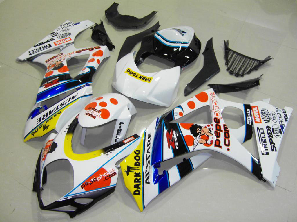 Low price motorcycle GSXR1000 fairings