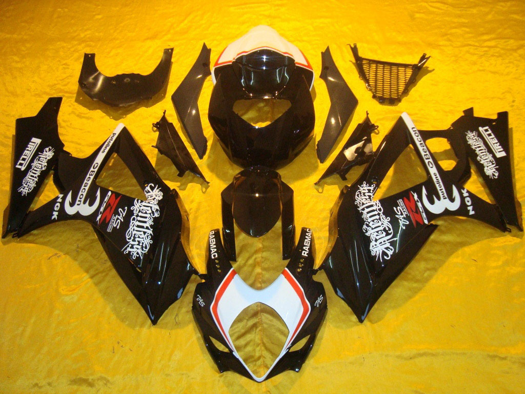 Discount motorbike GSXR1000 fairings in USA