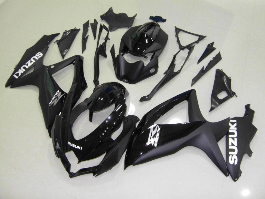 UK sportbike GSXR600 fairing kit cheap (All Black)