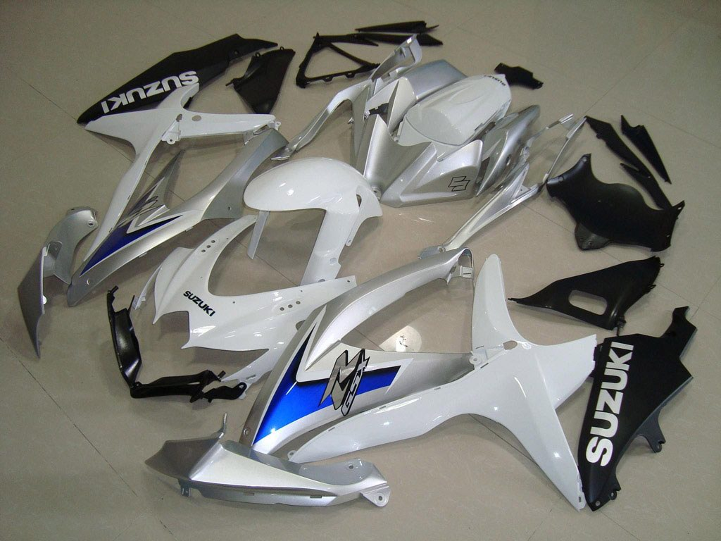 Buy Cheap aftermarket GSXR600 fairings (White)