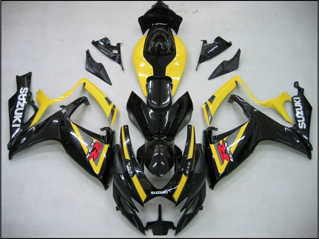 Cool aftermarket GSXR600 fairings kit Cheap