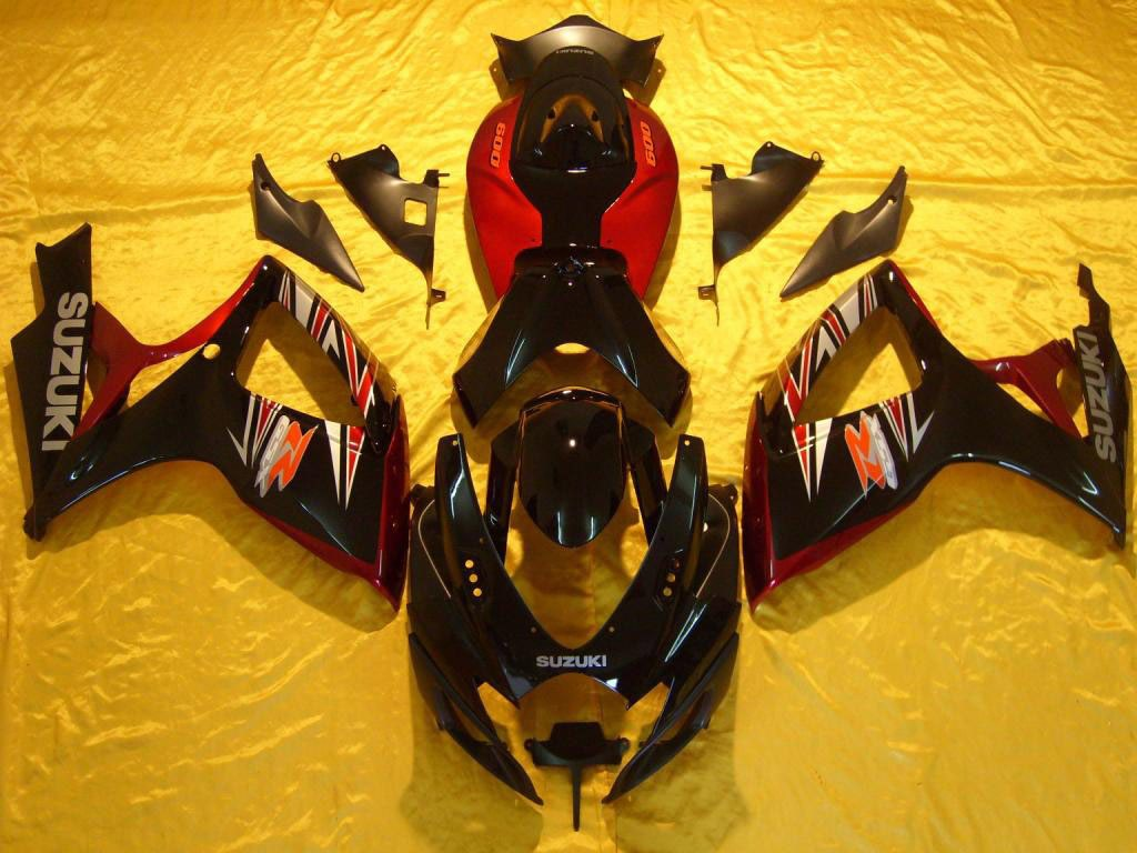 Dallas motorbike GSXR 600 fairing kits on sale