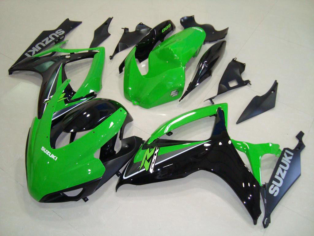 Hot sale SUZUKI ABS GSXR600 fairings BODYWORK